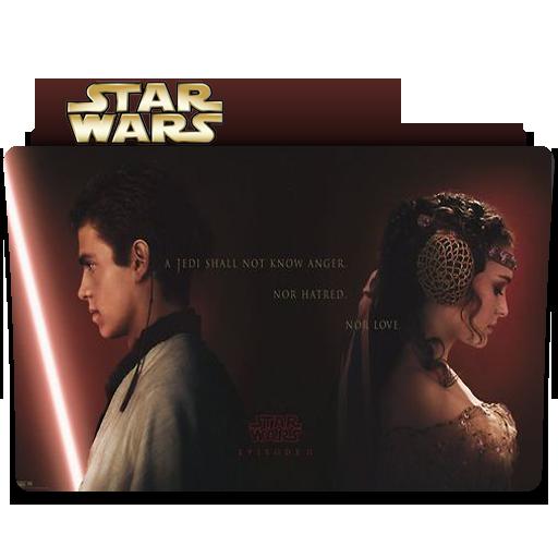 Star Wars: Star Crossed Lovers Folder Icon by RainGirl2009