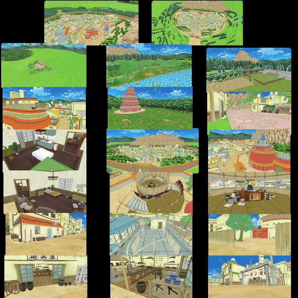 Hidden Leaf Village - Complete - (DL linked below) by Naruko