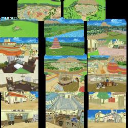 Hidden Leaf Village - Complete - (DL linked below)