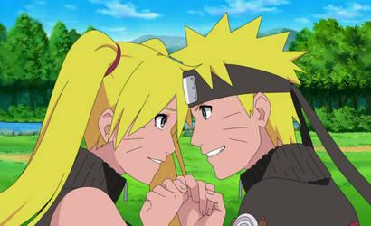 Naruto and Naruko - The Promise