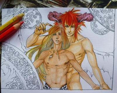 The Demon I Summoned WIP2 by Ameyama