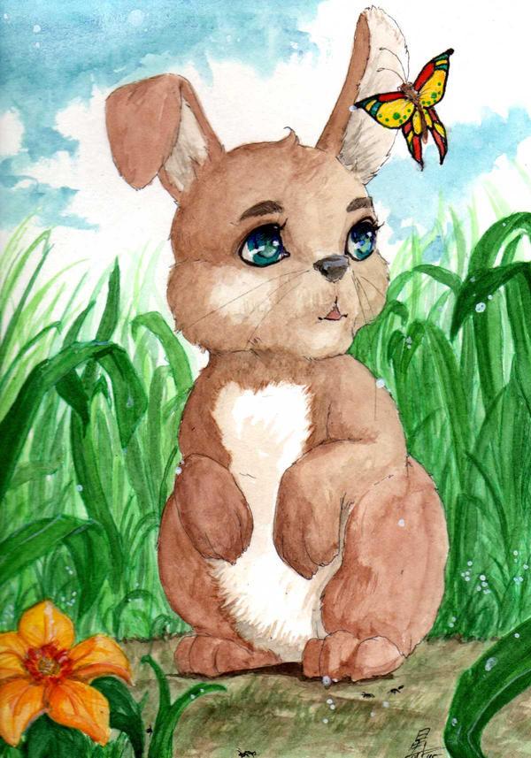 Easter Bunny by Ameyama