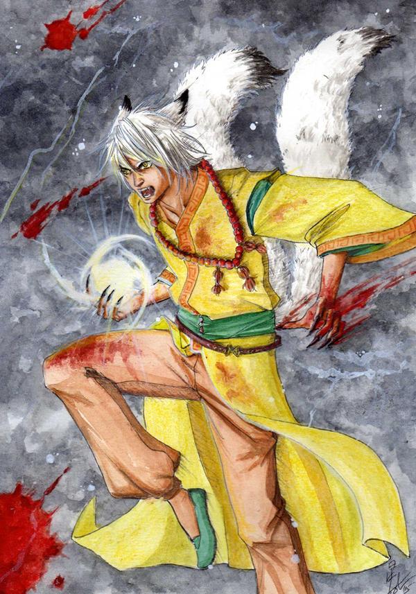 Kazuki Fight by Ameyama