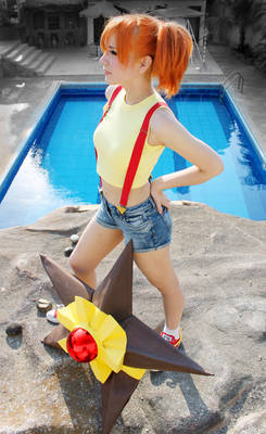 Misty Cosplay Pokemon - Gym Leader