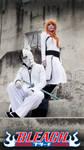 Orihime and Ulquiorra cosplay - Bleach