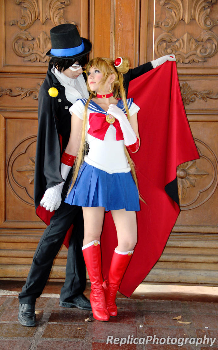 Sailor Moon and Tuxedo Mask cosplay - Only One by SailorMappy