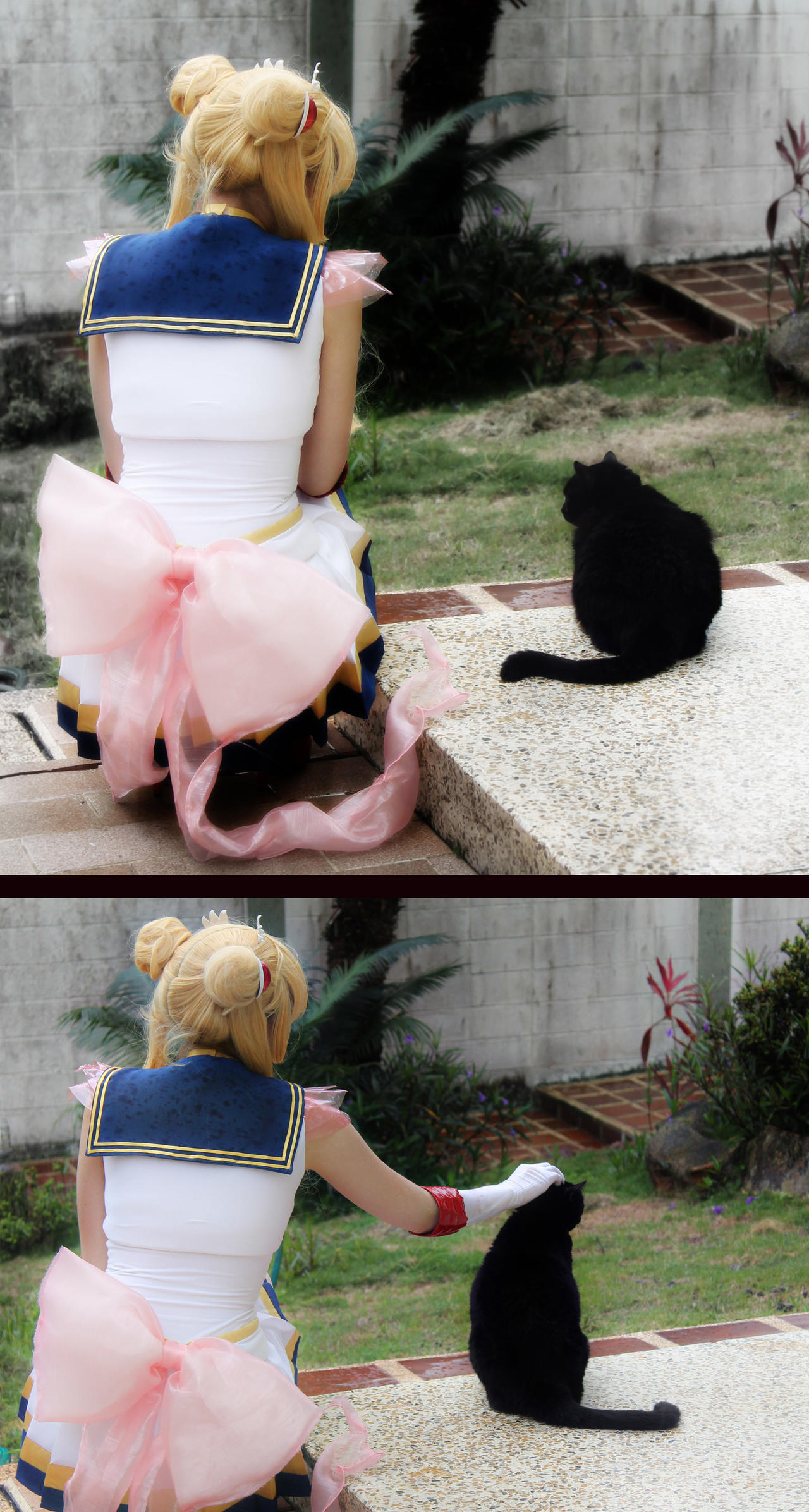 Super Sailor Moon and Luna Cosplay - Friendship by SailorMappy