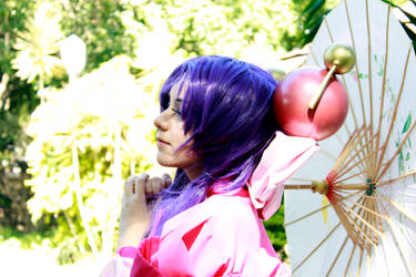 Saber Marionette Cosplay - Cherry Blossom Girl by SailorMappy