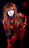 Asuka Langley Soryu Plugsuit Cosplay - Evangelion