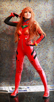 Neon Genesis Evangelion Asuka Langley Cosplay by SailorMappy