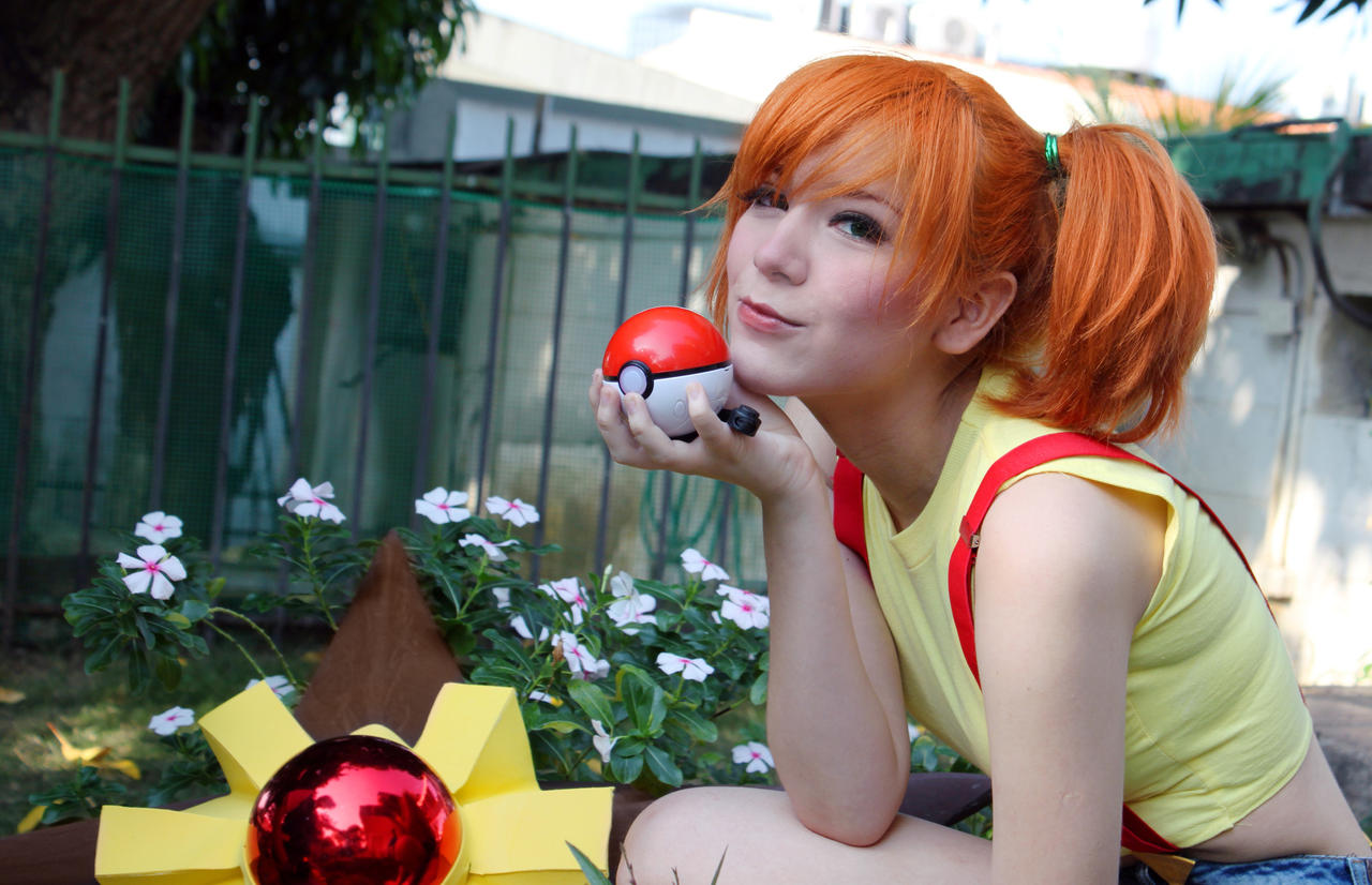 Misty - Kasumi Pokemon Cosplay - Pokeball go! by SailorMappy