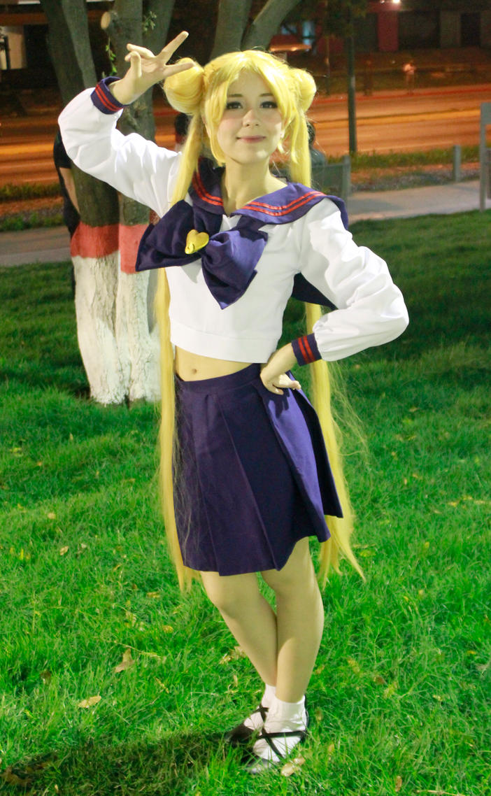 Usagi Tsukino High School Uniform - 214.2KB