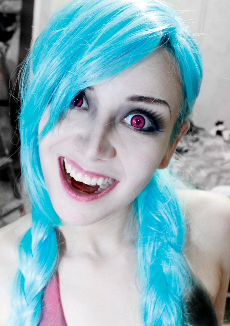 JINX Loose Cannon League of Legends - Cosplay test by SailorMappy
