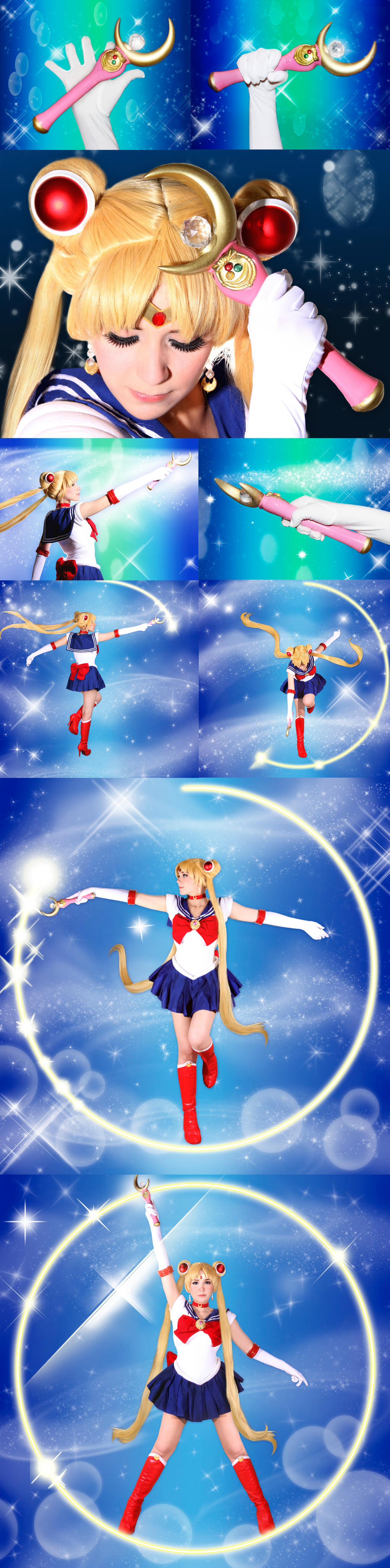 Sailor Moon Cosplay - Moon Healing Escalation! by SailorMappy
