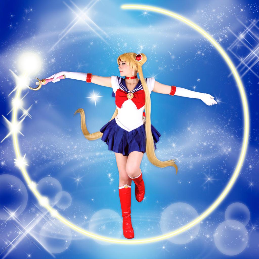 Sailor Moon Cosplay - Moon Healing by SailorMappy