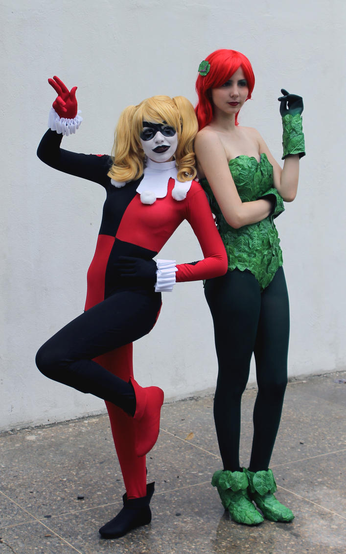 Harley Quinn Poison Ivy Cosplay - Crime Partners by SailorMappy