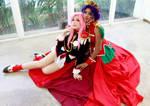 Utena and Anthy Cosplay - Revolutionary Girl Utena by SailorMappy