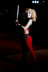 Harley Quinn Cosplay - Assault on Arkham Movie