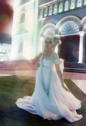 Princess Serenity Cosplay - Sailor Moon Manga