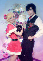 Usagi Luna and Mamoru - Sailor Moon Cosplay