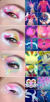 Sailor Moon Inspired Makeup - Transformations