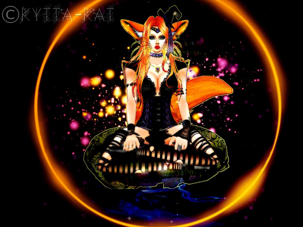 Foxy Witch by Kytta-Kat
