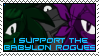 Babylon Rogues stamp