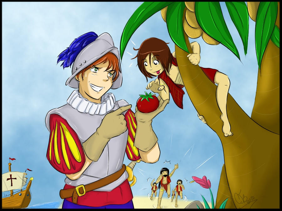 APH Tempted by a Tomato by WyldCherry