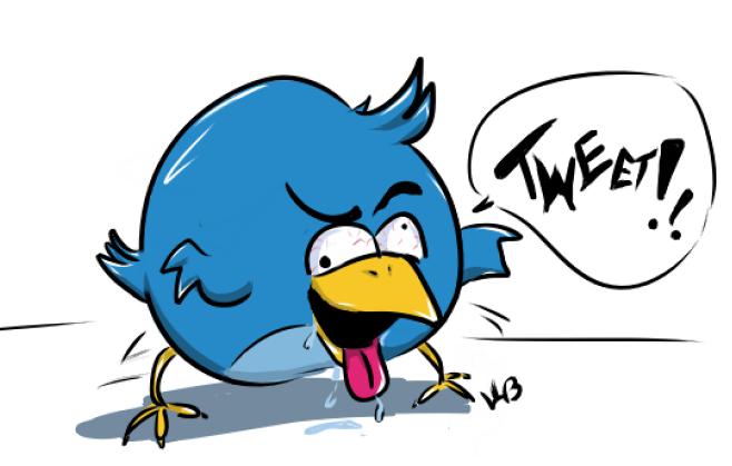 Twitter Larry Bird by WyldCherry