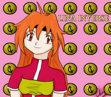 Lina Inverse by WyldCherry