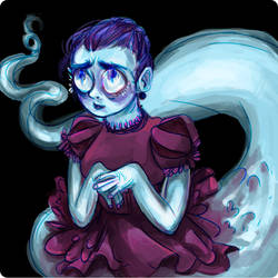 Ghosty by AlbinoPearl