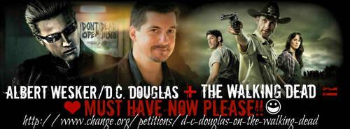 Help Us Get Wesker on the Walking Dead! by LakotaAngel72