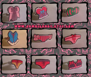 Panties and Bras by zambicandy