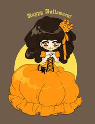 Pumpkin princess by zambicandy