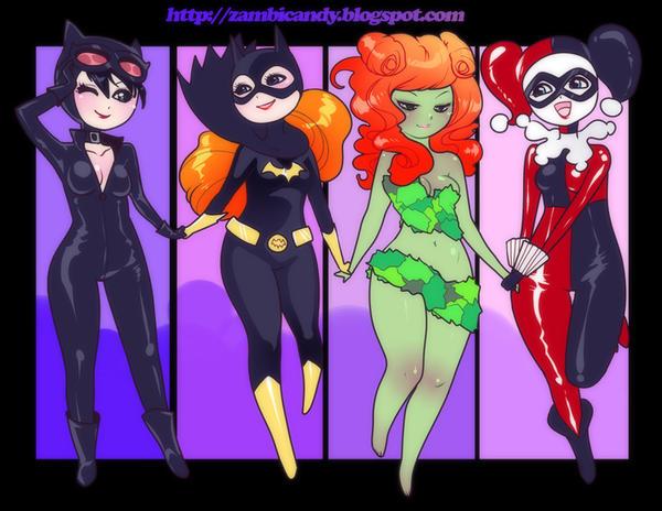 Gotham gurls by zambicandy