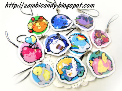 MLP charms by zambicandy