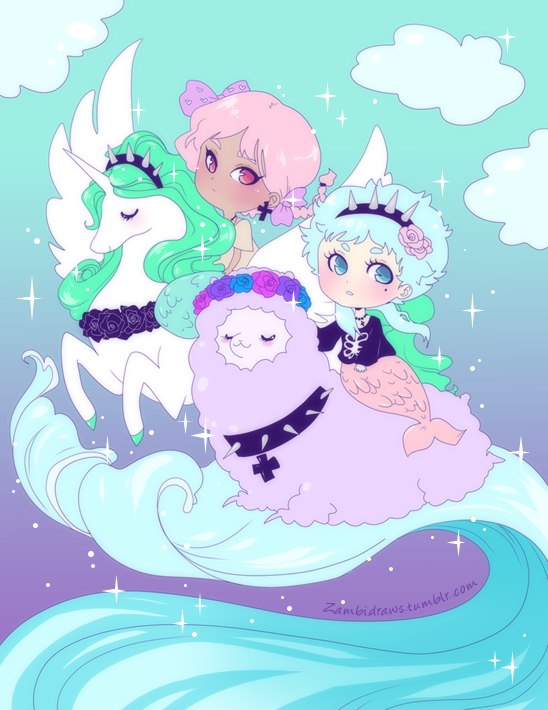 Pastel goth chans by zambicandy