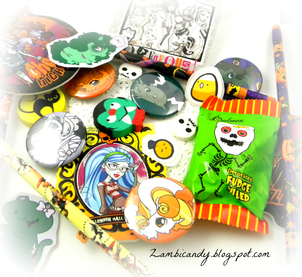 Halloween yummies by zambicandy