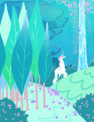 Unicorn forest by zambicandy