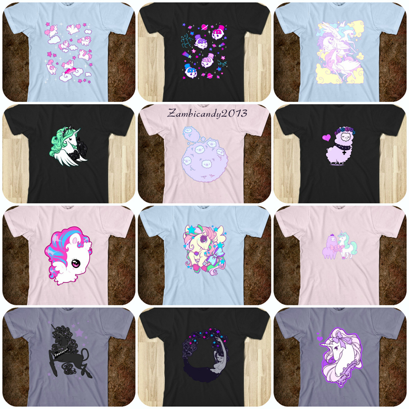 Shirts by zambicandy