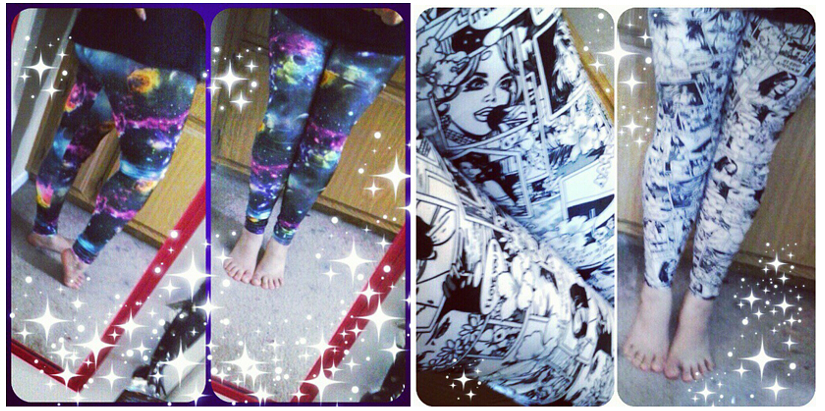 Leggings by zambicandy