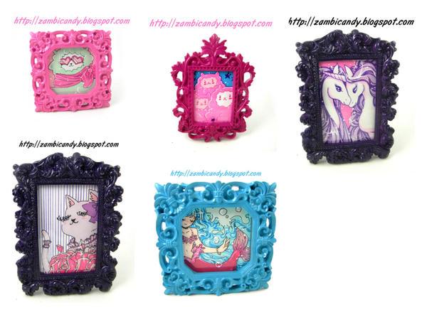 Mini frames by zambicandy