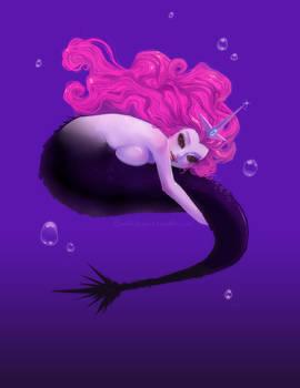 Evil mermaid princess