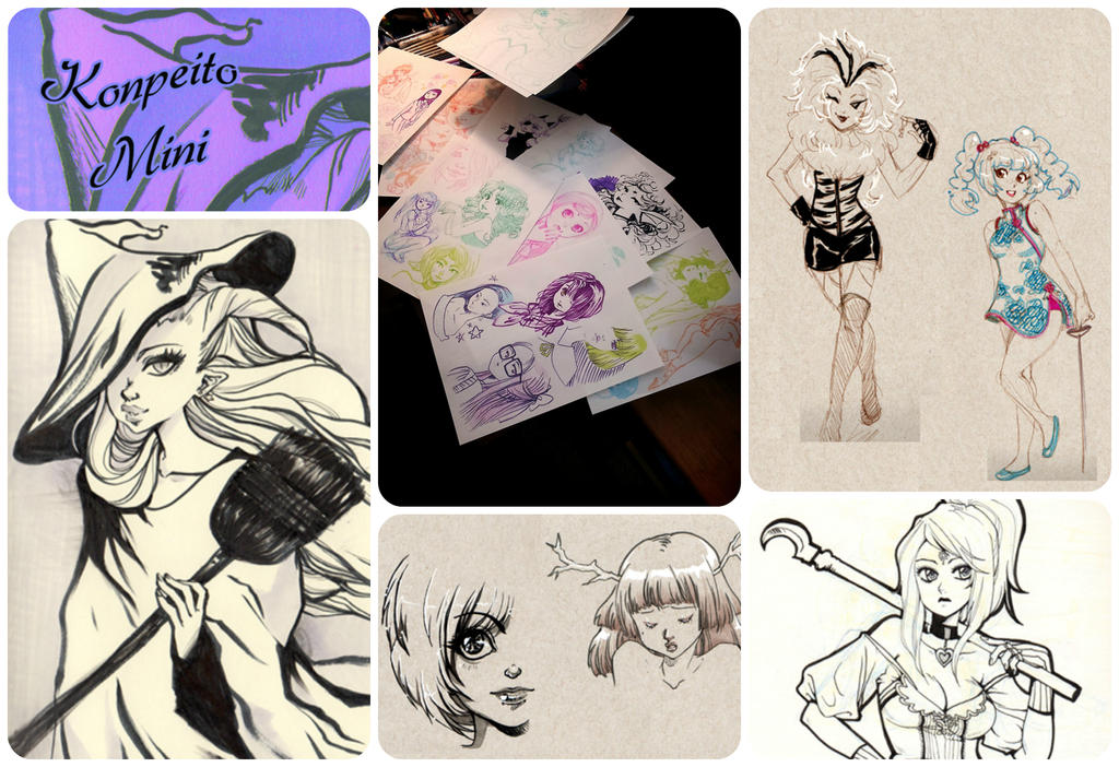 Sketch book up for pre order by zambicandy