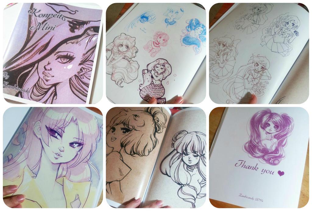 Sketchbook by zambicandy