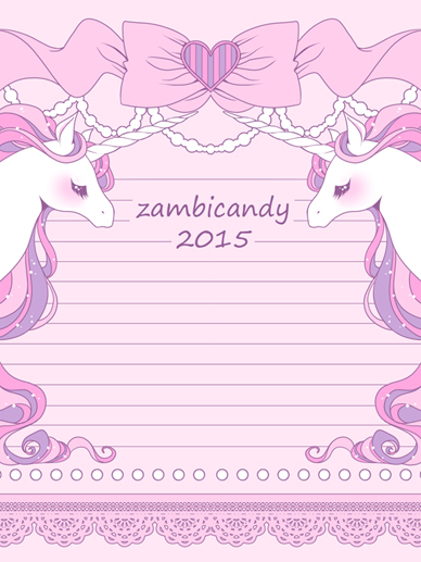 pony memo pad by zambicandy