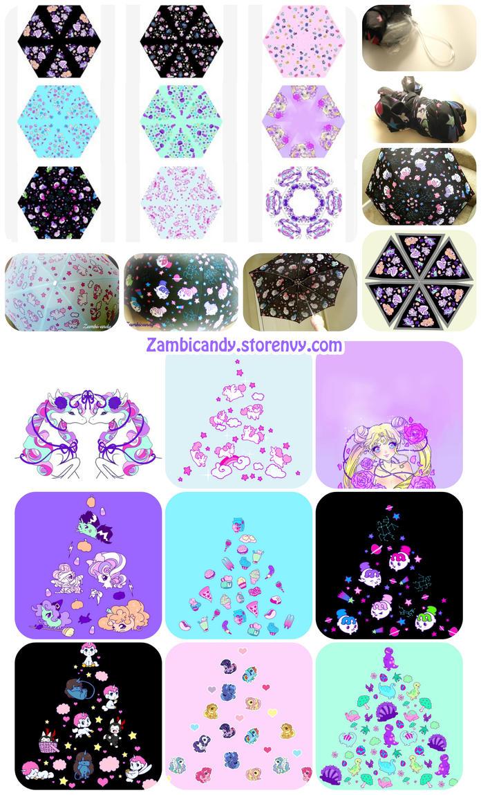 Umbrellas by zambicandy