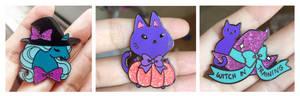 Enamel pins Halloween photos ALL