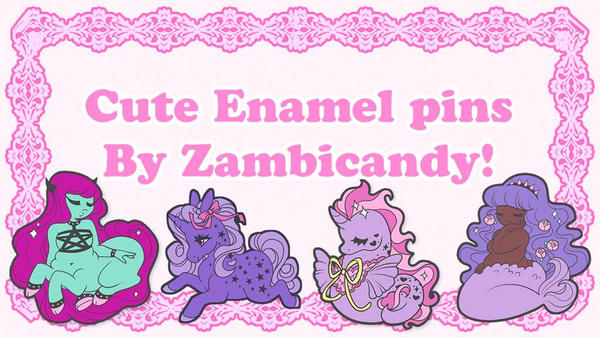 First ever pin Kickstarter by zambicandy