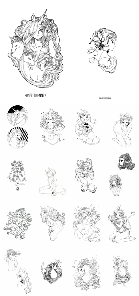 New sketchbook preorders by zambicandy